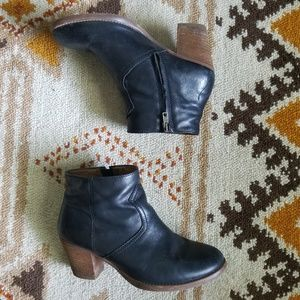 Madewell Shoes - Madewell - Leather Booties in Black
